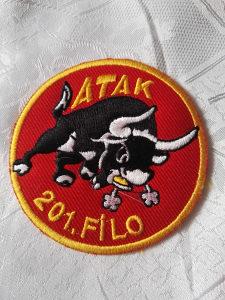 Turski pilotski amblem ATAK 201 FILO