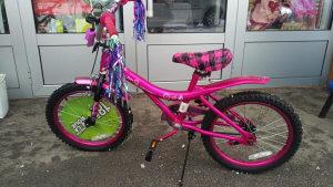 """AKCIJA! Dječije žensko biciklo 18"""" Puprle Rain"""
