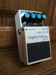 Boss DD-3 Digital Delay!