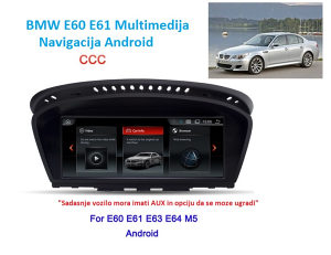 "BMW E60 radio Multimedija Android 8.8"" LCD"
