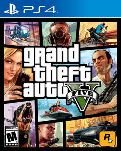 GTA V PS4 (Grand Theft Auto 5)
