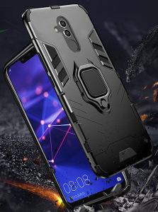 Huawei Mate 20 Lite armor hibridna maska sa ringom