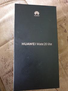 Huawei Mate 20 lite novoo!!!