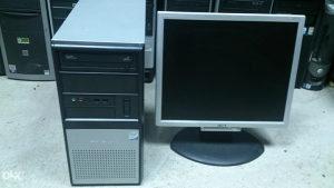 Komplet pc tarox intel c2d i lcd monitor