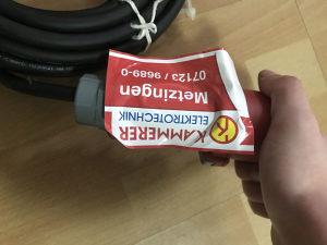 Kablo za trofaznu struju sa uticnicom