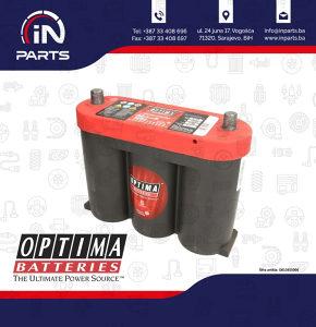 Akumulator OPTIMA 50Ah/815A RED (L ) 254x83x205