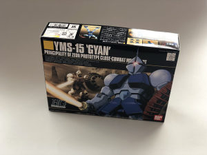 Bandai Model Kit - 1/144 HGUC YMS-15 GYAN
