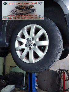 VW GOLF FELGE ALUMINIJSKE 16 5X112