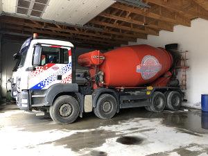 Mikser beton mixer MAN 41.400