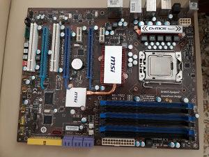 Msi x58 pro 1366 lga + i7 950