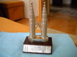 Suvenir Malezija Twin Towers