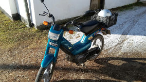 Peugeot moped
