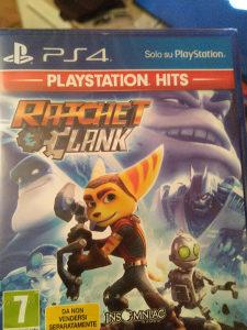 Ratchet Clank PS4 Novo zapakovano