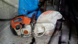 Mašina za sječenje betona i pločica