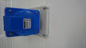 Utičnica industrijska 3x32A IP44 230V
