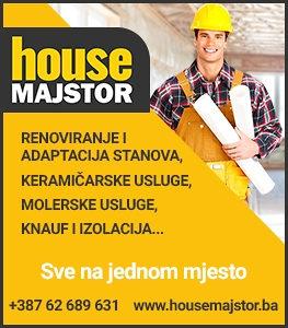 House Majstor Sarajevo(renoviranje,adaptacija,instalaci