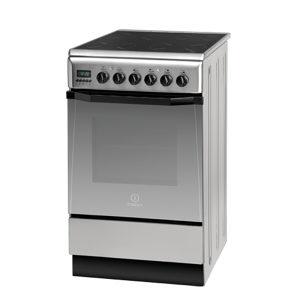 INDESIT 50cm električni štednjak I5V7H6A X
