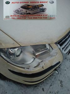 VW TOURAN 1TO BRANIK PREDNJI