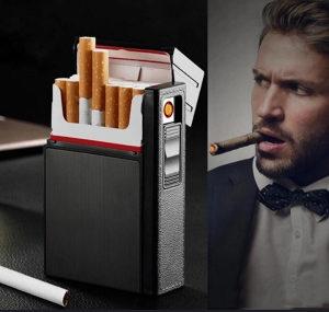 Upaljac i kutija za cigarete
