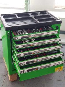 Kolica sa alatom za mehanicarske radnje profi alat