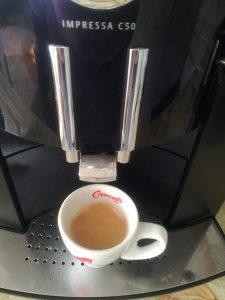 Kafe aparat JURA C50