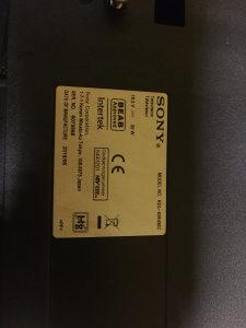 Sony Bravia KDL-40R450C, razbijen