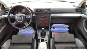 Audi A4 2.0 TDI OČUVAN MAX koža,led komplet,folije kom