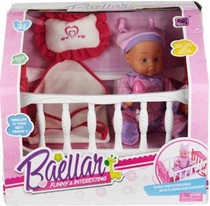 AKCIJA! Lutka set sa krevetcom,igračke