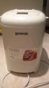 Gorenje pekač hljeba 15programa+GRATIS 5kg BGbrašna