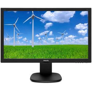 "PHILIPS Monitor LED  23.6"" Full HD TN 5MS 243S5LHMB/00"