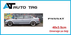 Stikeri i auto naljepnice/naljepnica za prag PASSAT VW