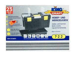 Kutija za pribor King Craft - 23 inch