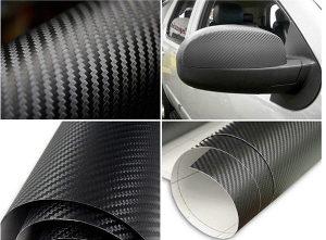 Carbon Karbon 3D Folija za Auto Laptop 127x30cm