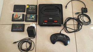 SEGA Mega Drive II + 5 igara