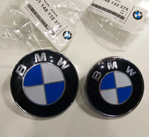 BMW ORIGINAL ZNAK gepek hauba 74mm 7.4cm E46 E90 F30