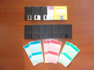 "Floppy Diskete 3.5"" HD 1.44 MB (flopi diskete) 11 kom."