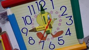 Zidni sat djeciji satovi
