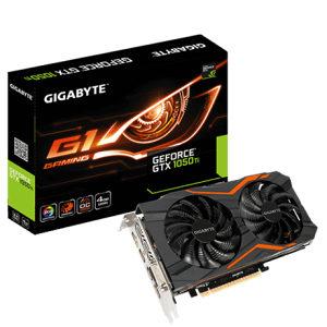 Gigabyte GTX1050-Ti/GTX 1050-Ti G1 Gaming 4GB DDR5
