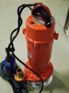 Muljara pumpa za vodu pumpe 750w 4000l/min