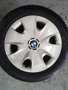 FELGE SA ZIMSKIM GUMAM BMW 120(116,118,2.0)KRATKO KORIS