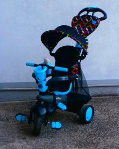 Smart trike tricikl 4u1 PLAVI