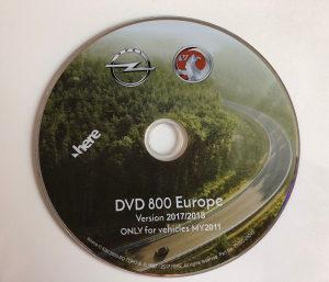 Mape za Opel CD500 DVD800 Insignia, Astra, Meriva