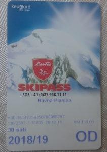 SkiPass Ravna planina 28 sati 2018/2019 ispod cijene