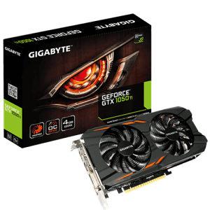 Gigabyte GTX1050-Ti / GTX 1050-Ti 4GB DDR5