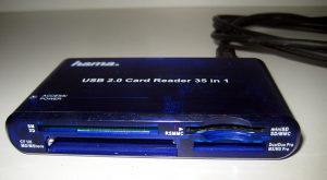 Hama čitač kartica 35 u 1 - USB Card Reader