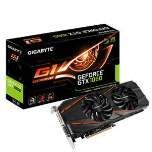 GIGABYTE GTX1060 / GTX 1060 6GB GDDR5 WF