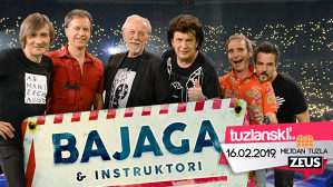 Karte za koncert-BAJAGA I INSTRUKTORI