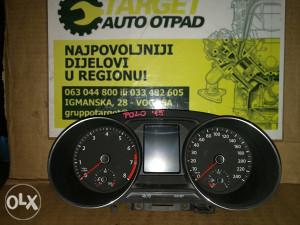 CELER KILOMETAR SAT VW POLO 10/15
