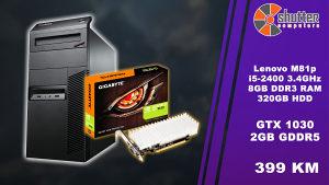 SUPER AKCIJA - GAMING RACUNAR M81 i5 GT 1030 2GB DDR5