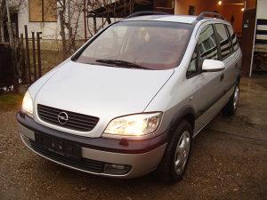 Opel zafira 1.8 benzin 2002 moze zamjena za passata 6